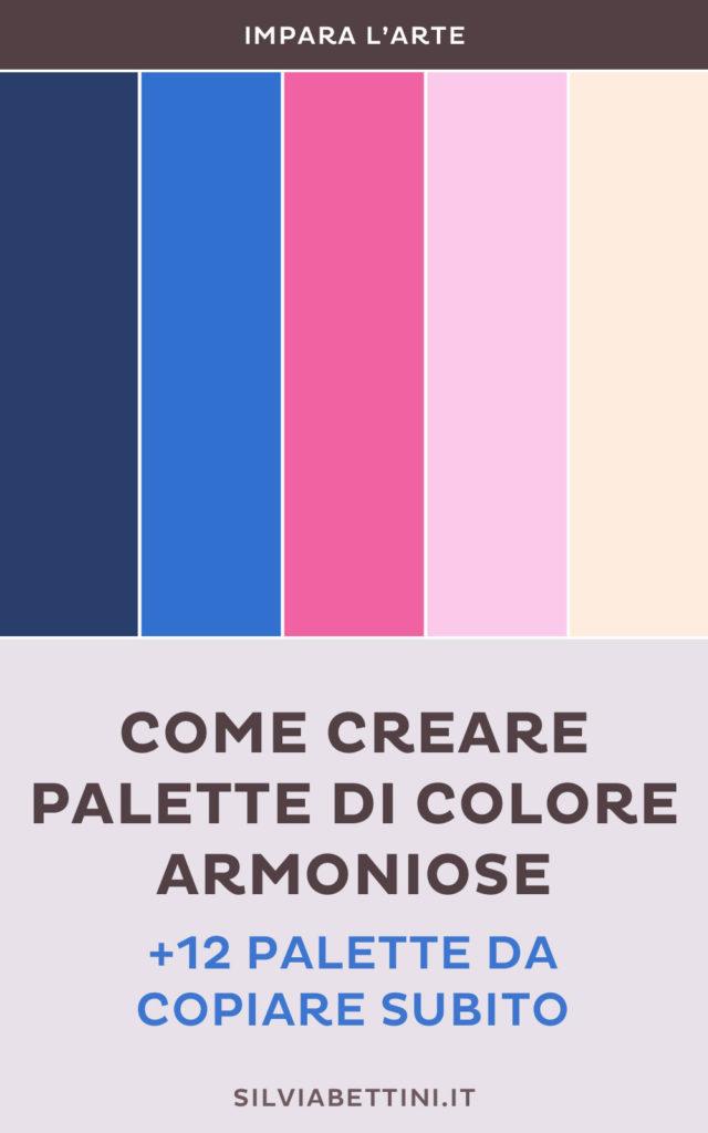 Creare palette di colore armoniose