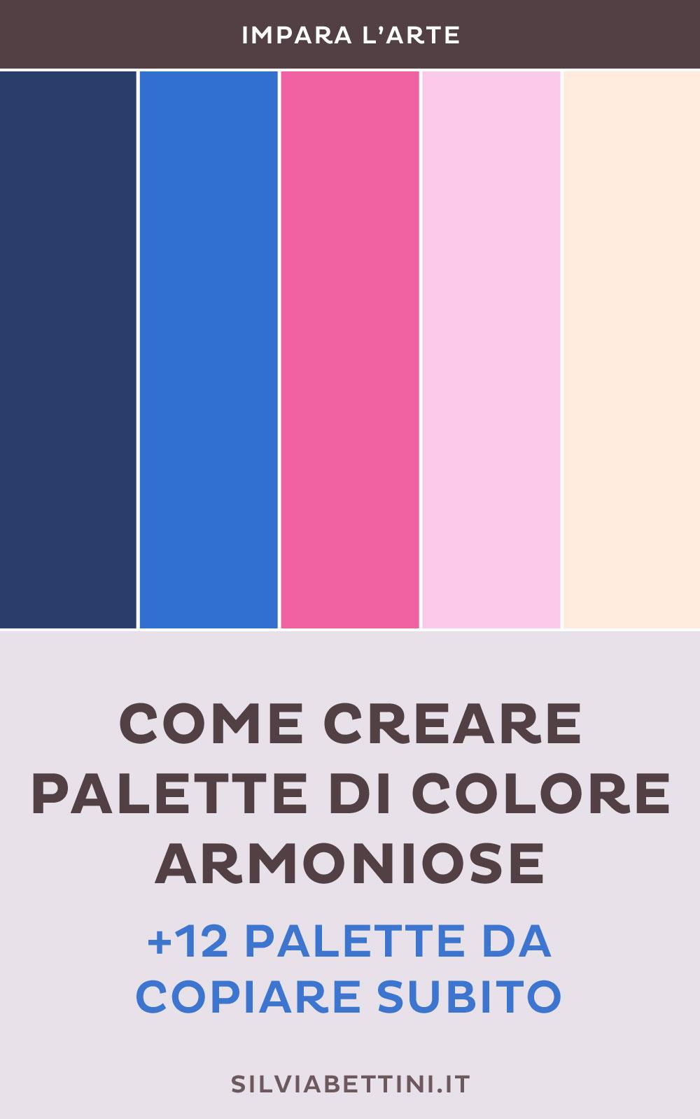 Colori Che Stanno Bene Insieme come creare palette di colore armoniose (+ 12 palette da