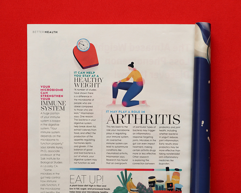 Better Homes and Gardens article. Illustrations by Silvia Bettini