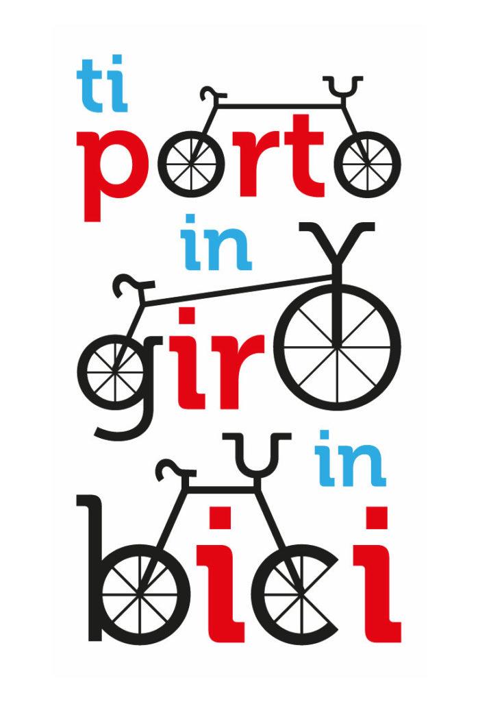 Ti porto in giro in bici logo © Silvia Bettini