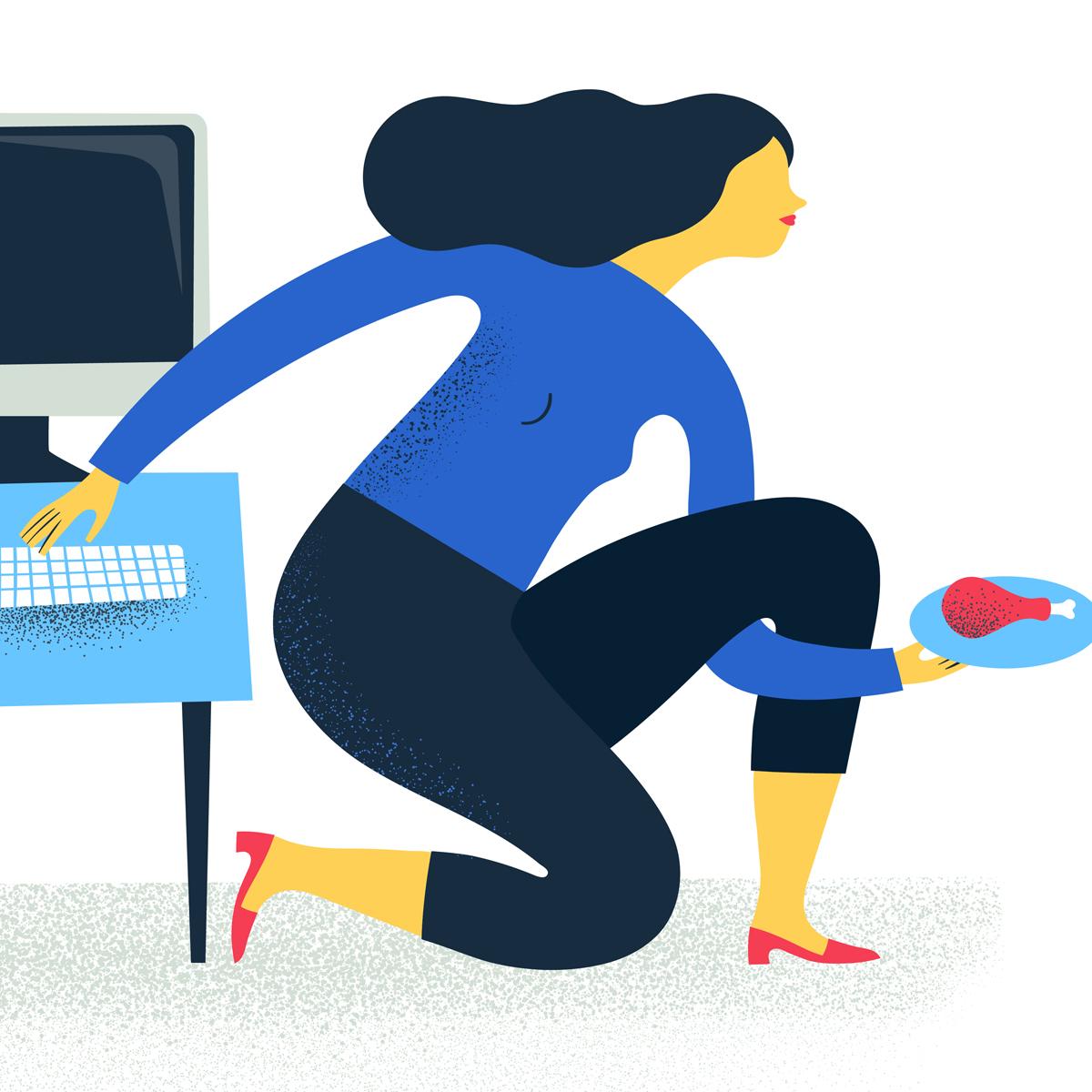 Illustrazione Multitasking © Silvia Bettini