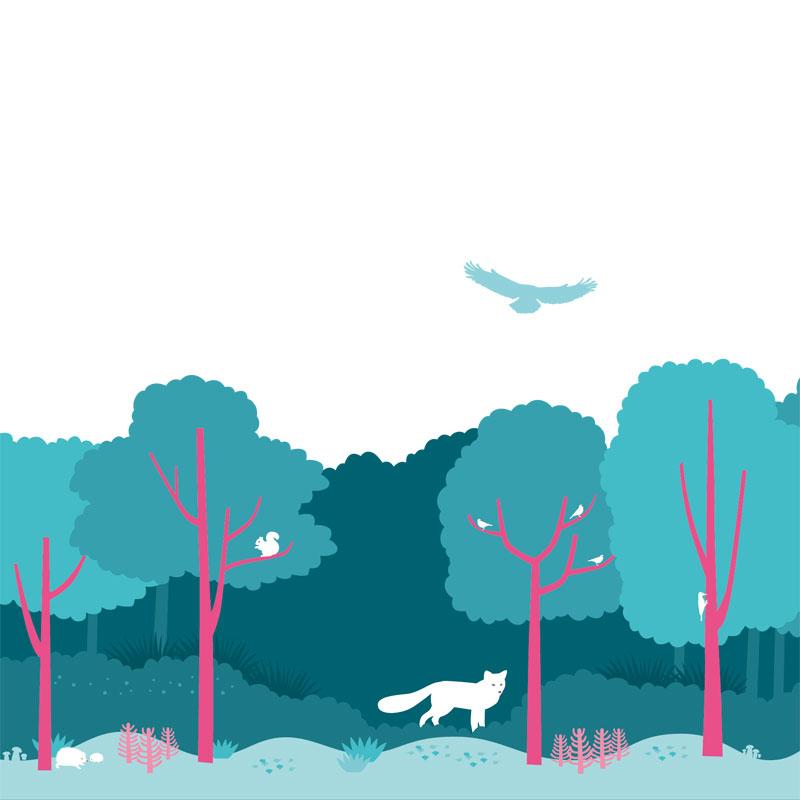 Illustrazione the Forest @ Silvia Bettini